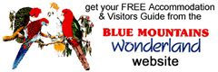 Get a free Blue Mountains Touring Guide & Map 