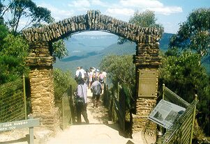Archway, Giant Stairway, Katoomba, Blue Mountains.